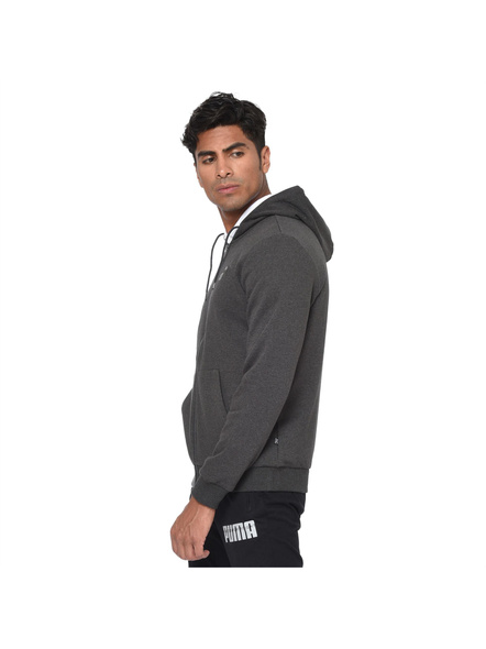 Essentials Fleece Hooded Men's Jacket(colour May Vary)-4007
