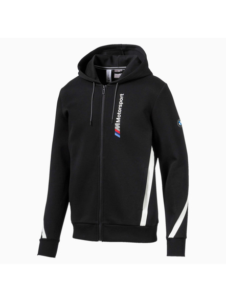 Bmw M Motorsport Hooded Men's Sweat Jacket(colour May Vary)-7631