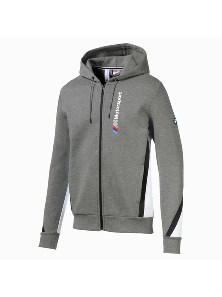 Bmw M Motorsport Hooded Men's Sweat Jacket(colour May Vary)-9308