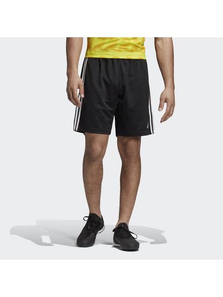 Tan Jacquard Shorts-S-1