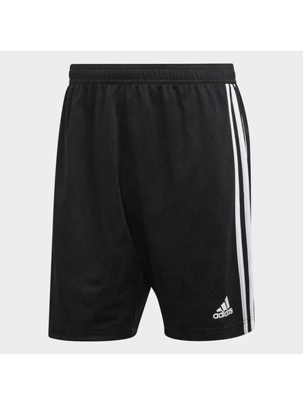 Tan Jacquard Shorts-S-2