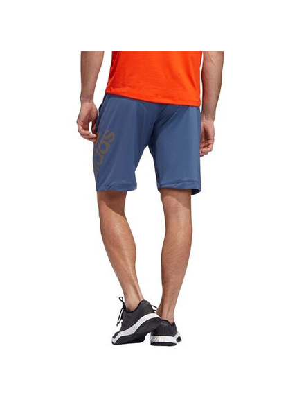 Men's Adidas Training 4krft Badge Of Sport Graphic Shorts (colour May Vary)-S-1