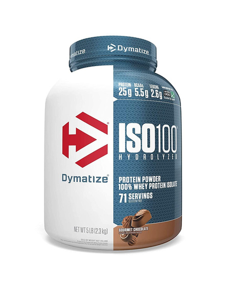 Dymatize Nutrition Iso 100 Whey Protein Powder Isolate 5 Lbs-3190