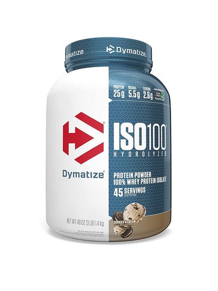 Dymatize Nutrition Iso 100 Whey Protein Powder Isolate 3 Lbs-5167