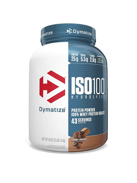 Dymatize Nutrition Iso 100 Whey Protein Powder Isolate 3 Lbs-19109