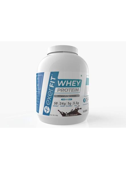 Exerfit Whey Titanium Series 2 Kgs Whey Protein Blend-3792
