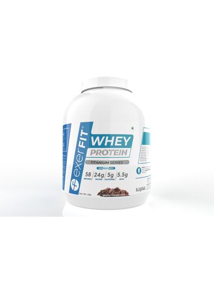 Exerfit Whey Titanium Series 2 Kgs Whey Protein Blend-8328