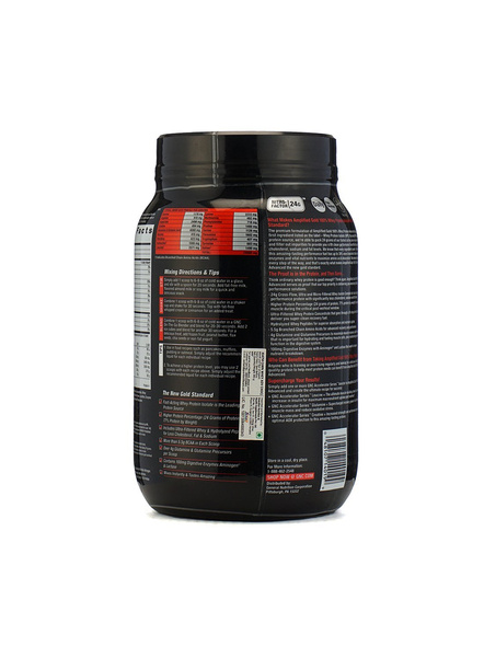 Gnc Amp Amplified Gold 100% Whey Protein Advanced 2 Kg-DOUBLE RICH CHOCLATE-2 Kg-2