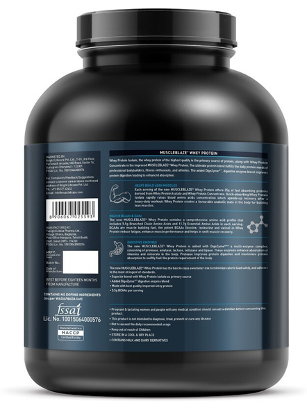 Muscleblaze Whey Protein Ultra 4.4 Lbs-COOKIE AND CREAM-4.4 Lbs-1