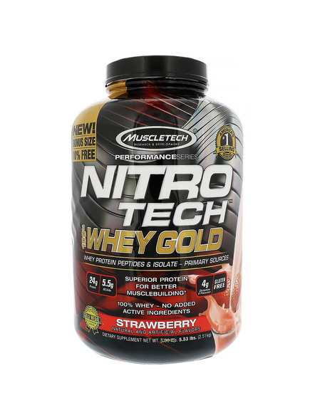 Muscletech Performance Series Nitrotech Whey Gold 5.5 Lbs-3191