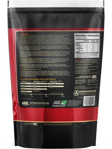 Optimum Nutrition Gold Standard 100% Whey Protein 1 Lbs-364
