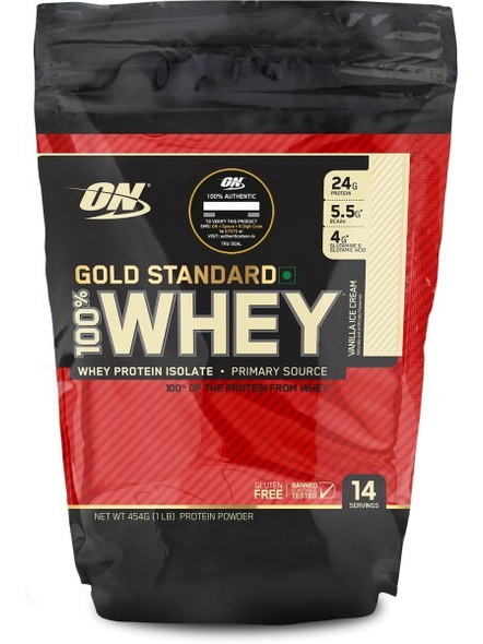 Optimum Nutrition Gold Standard 100% Whey Protein 1 Lbs-823