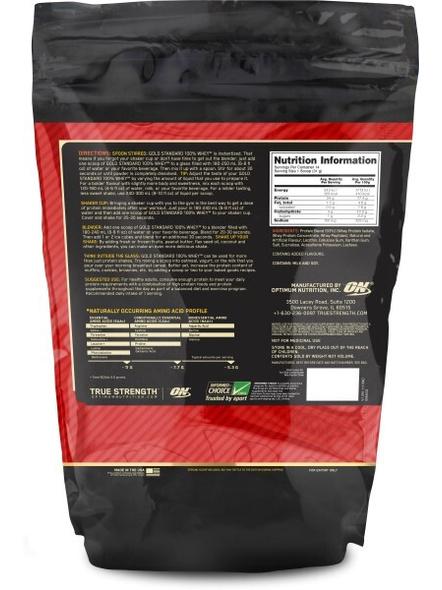 Optimum Nutrition Gold Standard 100% Whey Protein 1 Lbs-VANILLA ICE CREAM-1 Lbs-1