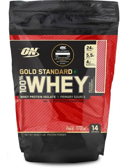 Optimum Nutrition Gold Standard 100% Whey Protein 1 Lbs-1762