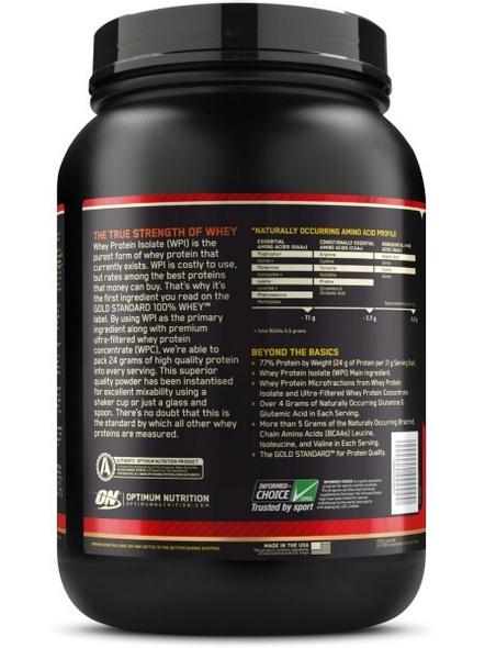 Optimum Nutrition Gold Standard 100% Whey Protein 2 Lbs-VANILLA ICE CREAM-2 Lbs-1