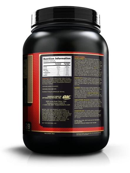 Optimum Nutrition Gold Standard 100% Whey Protein 2 Lbs-MOCHA CAPUCCINO-2 Lbs-1