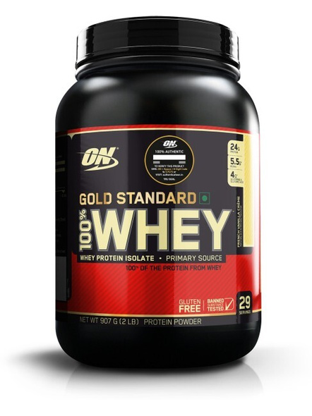 Optimum Nutrition Gold Standard 100% Whey Protein 2 Lbs-5965
