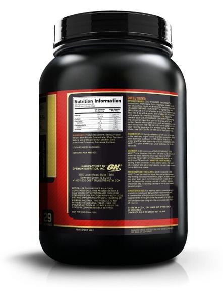 Optimum Nutrition Gold Standard 100% Whey Protein 2 Lbs-FRENCH VANILLA CREAM-2 Lbs-1