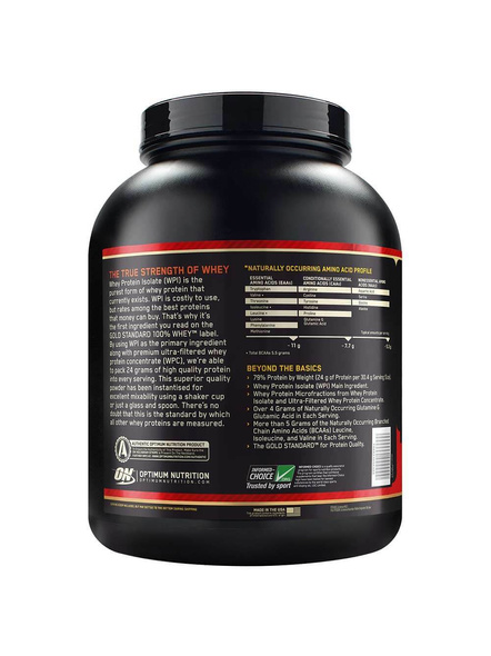 Optimum Nutrition Gold Standard 100% Whey Protein 5 Lbs-DOUBLE RICH CHOCLATE-5 Lbs-1