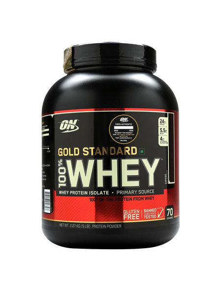 Optimum Nutrition Gold Standard 100% Whey Protein 5 Lbs-1174