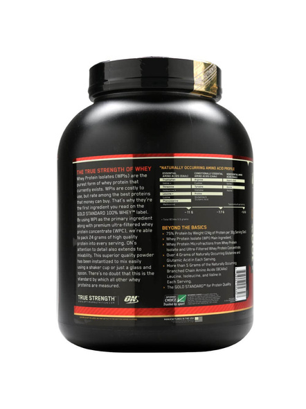 Optimum Nutrition Gold Standard 100% Whey Protein 5 Lbs-5 Lbs-COFFEE-1