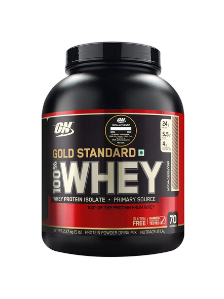 Optimum Nutrition Gold Standard 100% Whey Protein 5 Lbs-1202