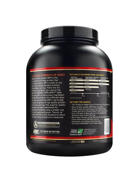 Optimum Nutrition Gold Standard 100% Whey Protein 5 Lbs-5 Lbs-MOCHA CAPUCCINO-1