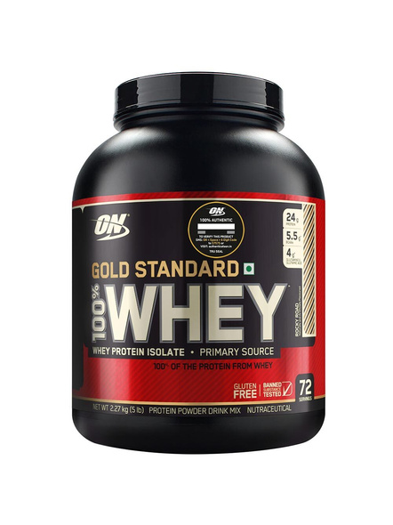 Optimum Nutrition Gold Standard 100% Whey Protein 5 Lbs-1233