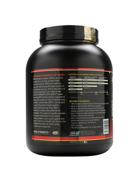 Optimum Nutrition Gold Standard 100% Whey Protein 5 Lbs-5 Lbs-ROCKY ROAD-1