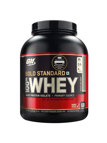 Optimum Nutrition Gold Standard 100% Whey Protein 5 Lbs-1763