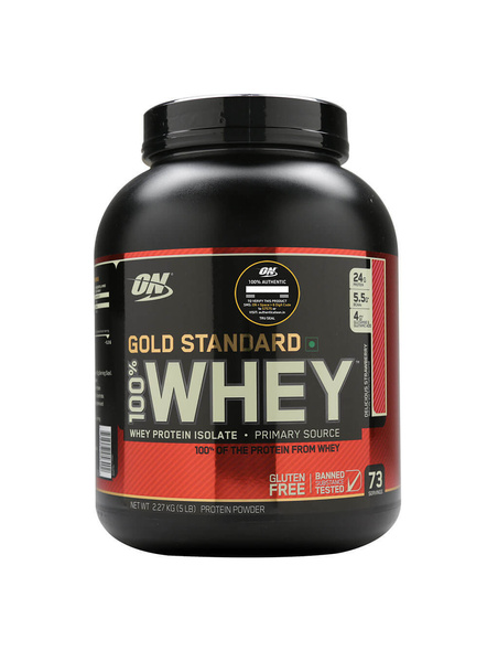 Optimum Nutrition Gold Standard 100% Whey Protein 5 Lbs-1764