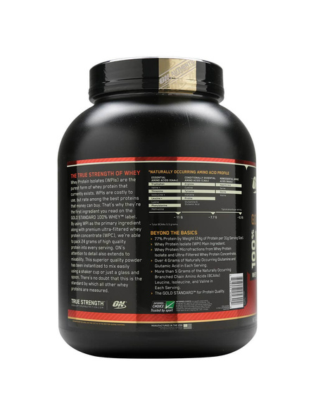 Optimum Nutrition Gold Standard 100% Whey Protein 5 Lbs-5 Lbs-DELICIOUS STRAWBERRY-1