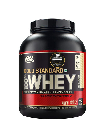 Optimum Nutrition Gold Standard 100% Whey Protein 5 Lbs-1986