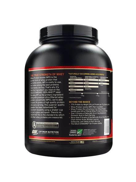 Optimum Nutrition Gold Standard 100% Whey Protein 5 Lbs-5 Lbs-VANILLA ICE CREAM-1