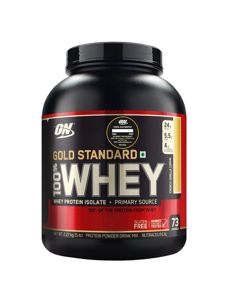 Optimum Nutrition Gold Standard 100% Whey Protein 5 Lbs-2794