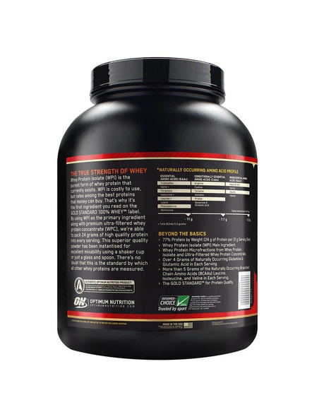 Optimum Nutrition Gold Standard 100% Whey Protein 5 Lbs-5 Lbs-FRENCH VANILLA CREAM-1