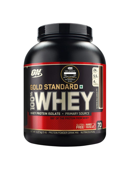 Optimum Nutrition Gold Standard 100% Whey Protein 5 Lbs-6905
