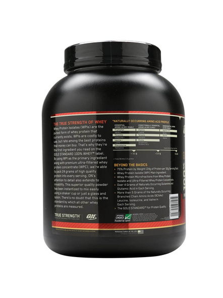 Optimum Nutrition Gold Standard 100% Whey Protein 5 Lbs-5 Lbs-EXTREME MILK CHOCOLATE-1