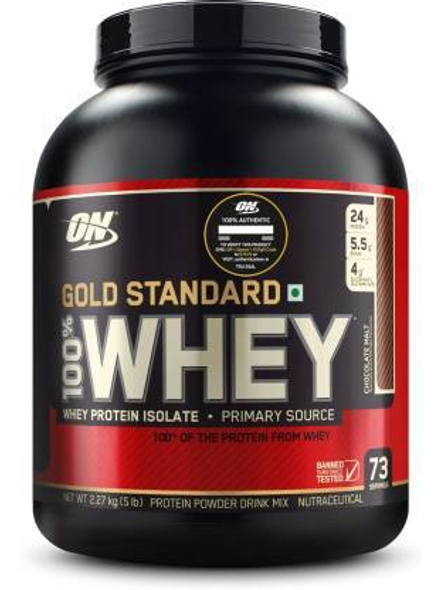 Optimum Nutrition Gold Standard 100% Whey Protein 5 Lbs-29386