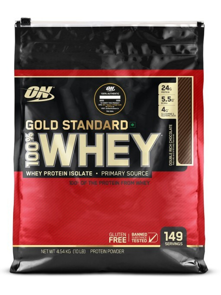 Optimum Nutrition Gold Standard 100% Whey Protein 10 Lbs-458