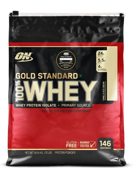 Optimum Nutrition Gold Standard 100% Whey Protein 10 Lbs-4615