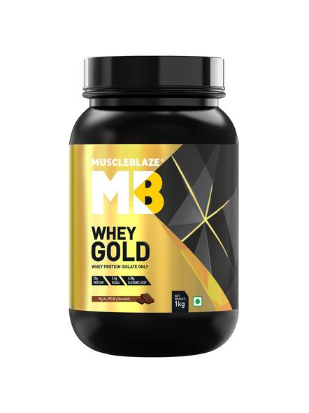 Muscleblaze Whey Gold Isolate 2.2 Lbs-951