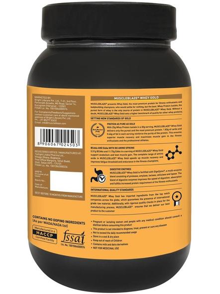 Muscleblaze Whey Gold Isolate 2.2 Lbs-MOCHA CAPUCCINO-2.2 Lbs-1