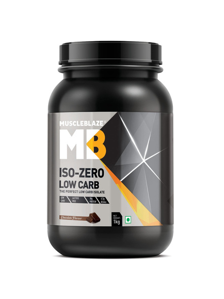 Muscleblaze Iso-zero Low Carb 100% Whey Protein Isolate 1 Kg-2272