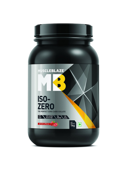 Muscleblaze Iso-zero Low Carb 100% Whey Protein Isolate 1 Kg-3468