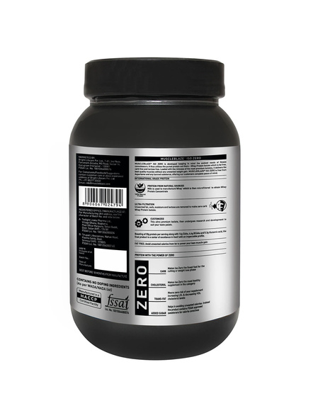 Muscleblaze Iso-zero Low Carb 100% Whey Protein Isolate 1 Kg-STRAWBERRY-1 Kg-1