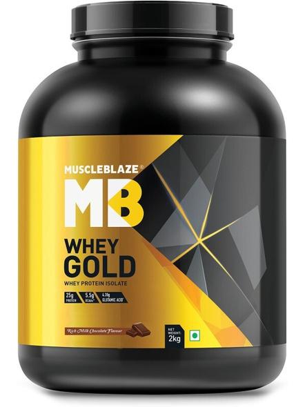 Muscleblaze Whey Gold Isolate 4.4 Lbs-1443
