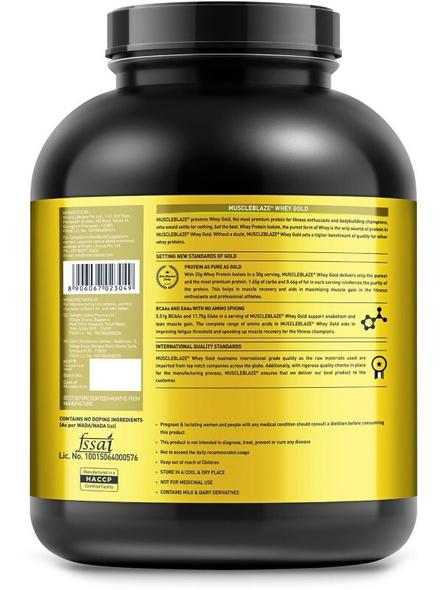 Muscleblaze Whey Gold Isolate 4.4 Lbs-RICH MILK CHOCOLATE-4.4 Lbs-1