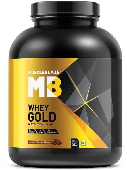 Muscleblaze Whey Gold Isolate 4.4 Lbs-1444