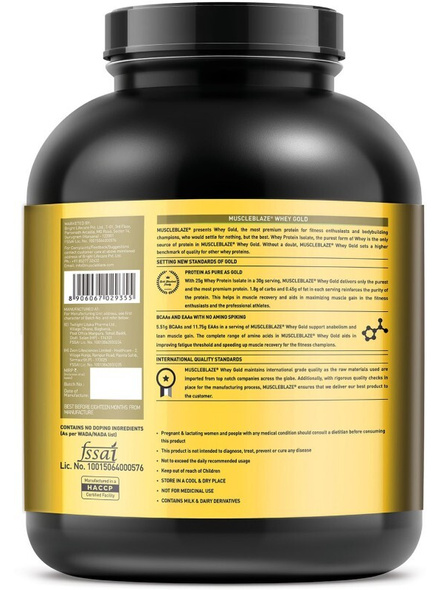 Muscleblaze Whey Gold Isolate 4.4 Lbs-SMOOTH CHOCOLATE-4.4 Lbs-1